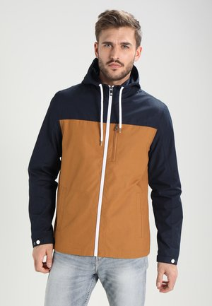 Summer jacket - dark blue / camel