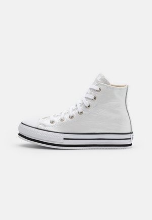 CHUCK TAYLOR ALL STAR PLATFORM EVA - Korkeavartiset tennarit - white/black