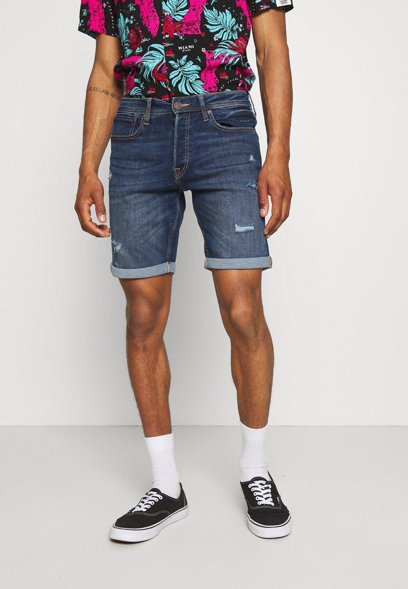 Jack & Jones - JJIRICK JJORIGINAL - Denim shorts - blue denim