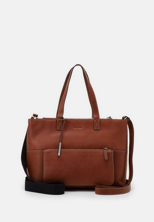 SHOPPER - Tote bag - authentic cognac