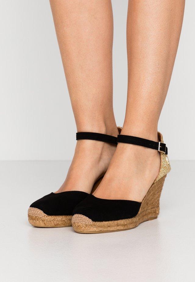 MONTY - High heeled sandals - black