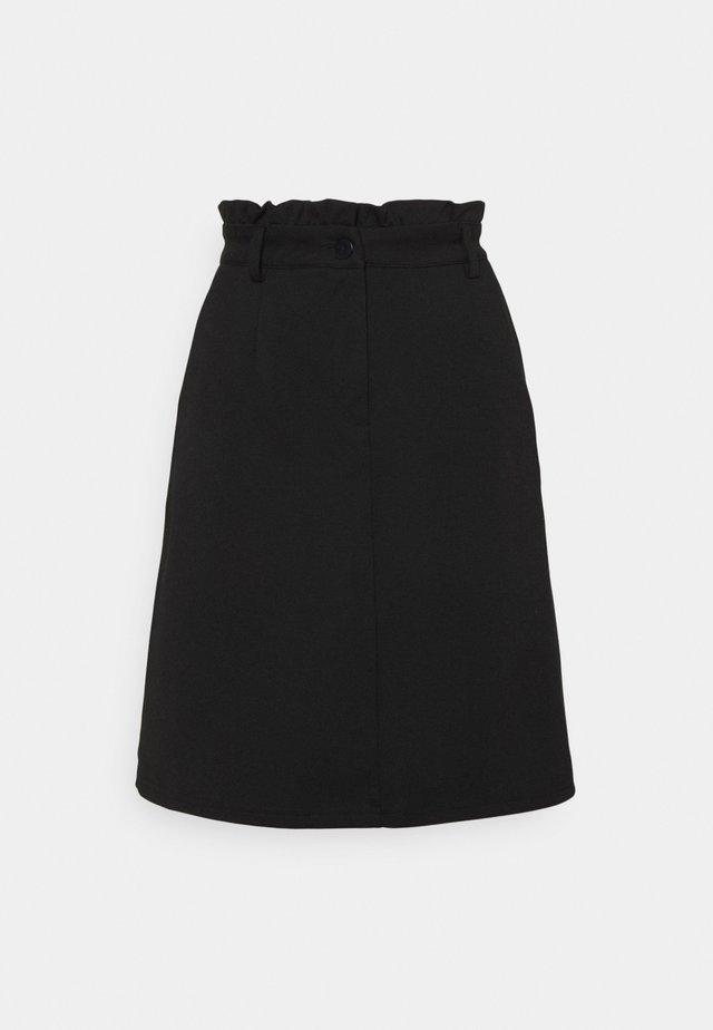 IHKATE  - Mini skirt - black