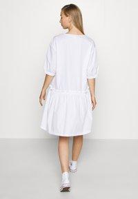 Monki - ROBIN DRESS - Day dress - white light - 2
