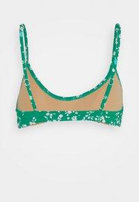 Cotton On Body - CROP HIGHWAISTED CHEEKY SET - Bikini - emarald - 2