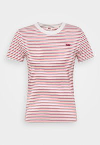 BABY TEE - T-shirt imprimé - pearl poppy red