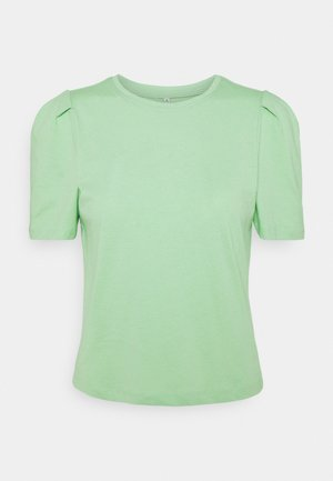 ONLELLA LIFE PUFF - Basic T-shirt - sprucestone