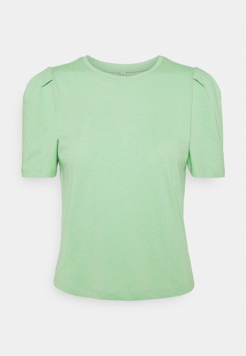 ONLY - ONLELLA LIFE PUFF - Basic T-shirt - sprucestone