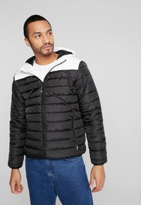 Only & Sons - ONSGEORGE QUILTED HOOD - Allvädersjacka - cloud dancer - 0