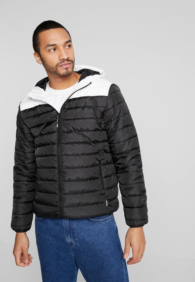 ONSGEORGE QUILTED HOOD - Giacca da mezza stagione - cloud dancer