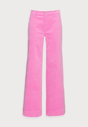 ALLIE TROUSERS - Stoffhose - bubble gum pink