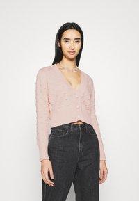 Cotton On - KNOBBLY CARDI - Cardigan - blossom - 0