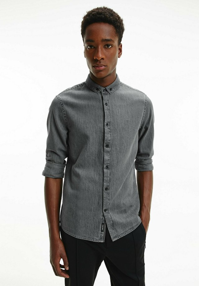 Shirt - light grey indigo