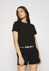 Diesel - UFSET PIJIMMY PYJAMA - Pyjama set - black - 0