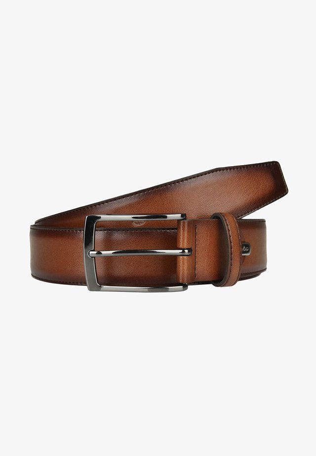 Belt business - cognac
