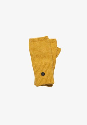 STUDIOS LUXE HALF - Fingerless gloves - golden green