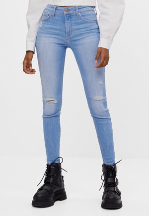 PUSH-UP - Jeans Skinny Fit - light blue