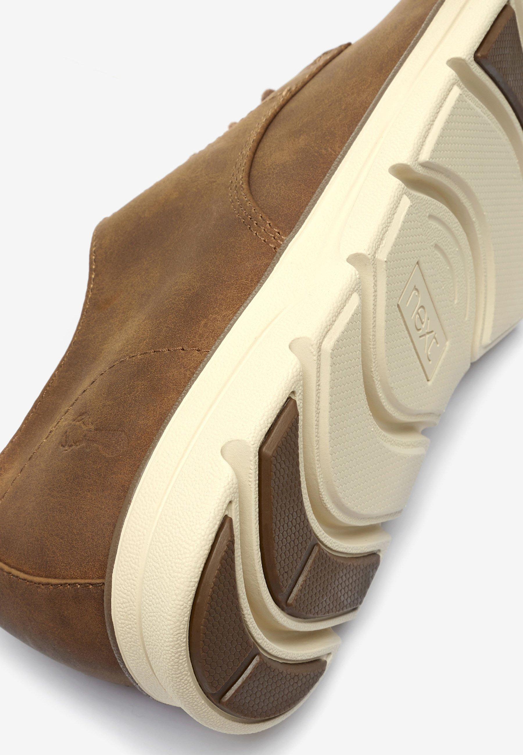 Next Sportiga snörskor - brown/brun - Herrskor DO6Ls