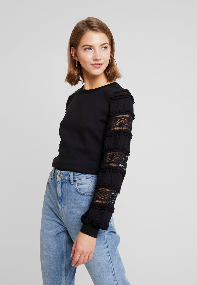 ONLY - ONLCLOVER - Sweatshirt - black