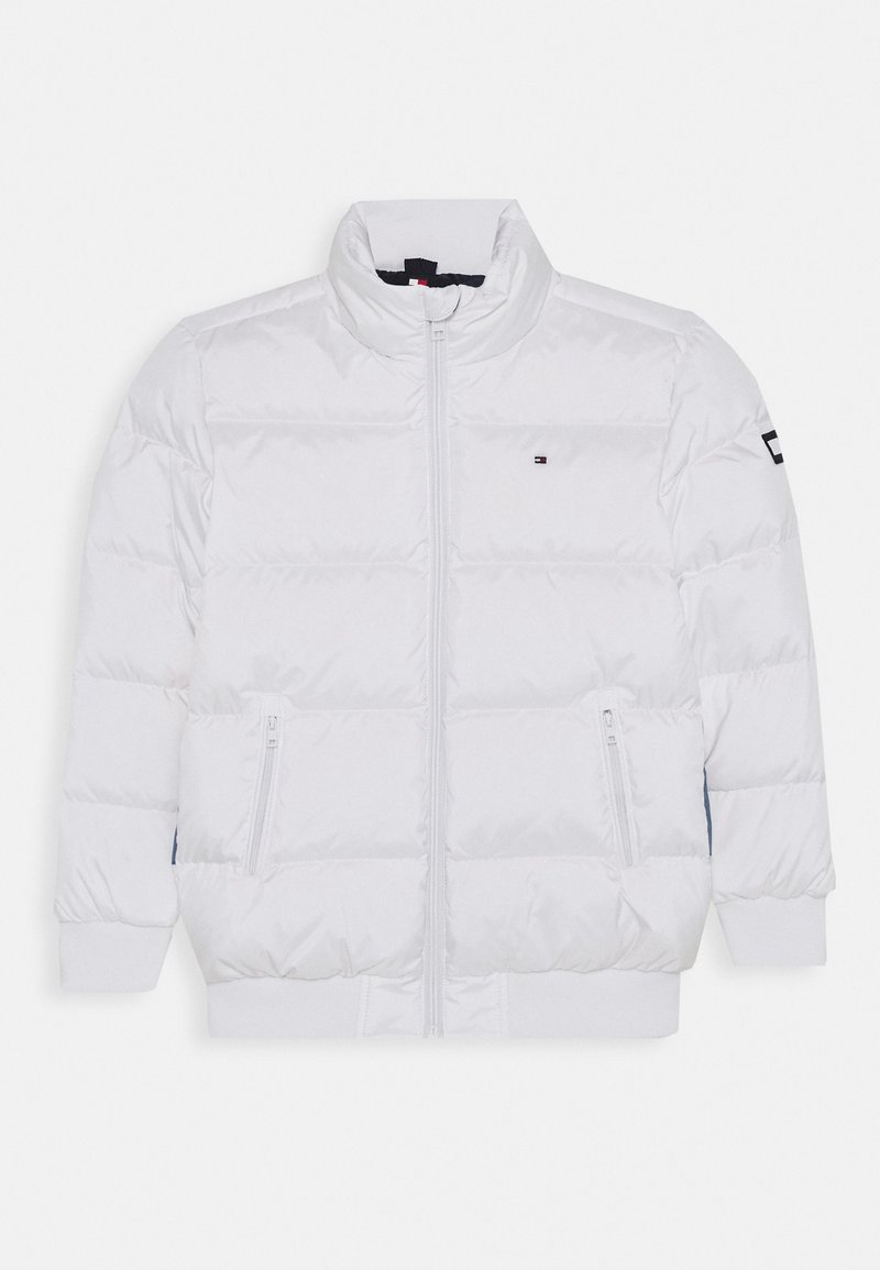 Tommy Hilfiger - REFLECTIVE FLAG BOMBER - Winterjas - white