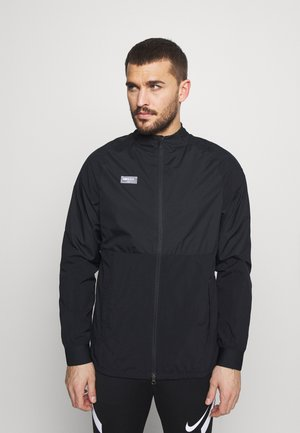 Training jacket - black/black/white/clear