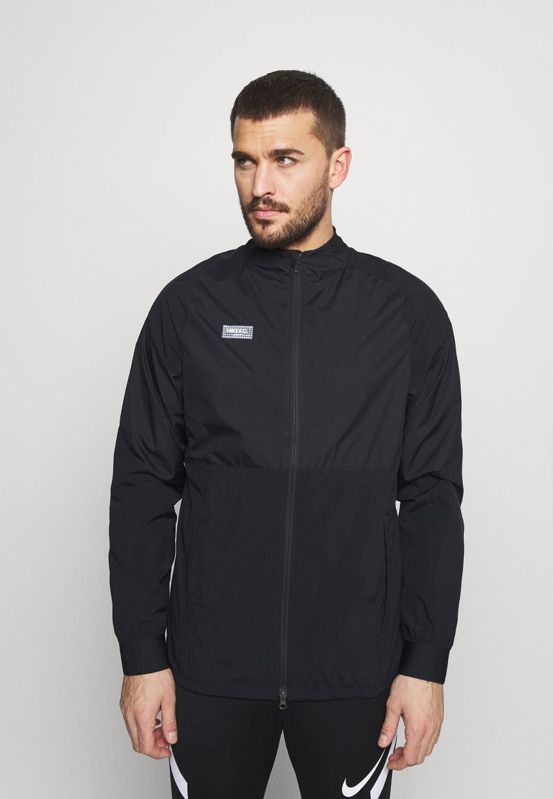 Nike Performance - Training jacket - black/black/white/clear