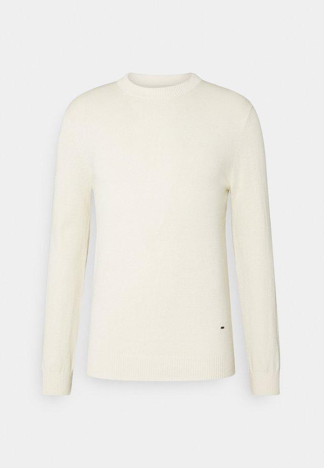 JONAS - Stickad tröja - antique white