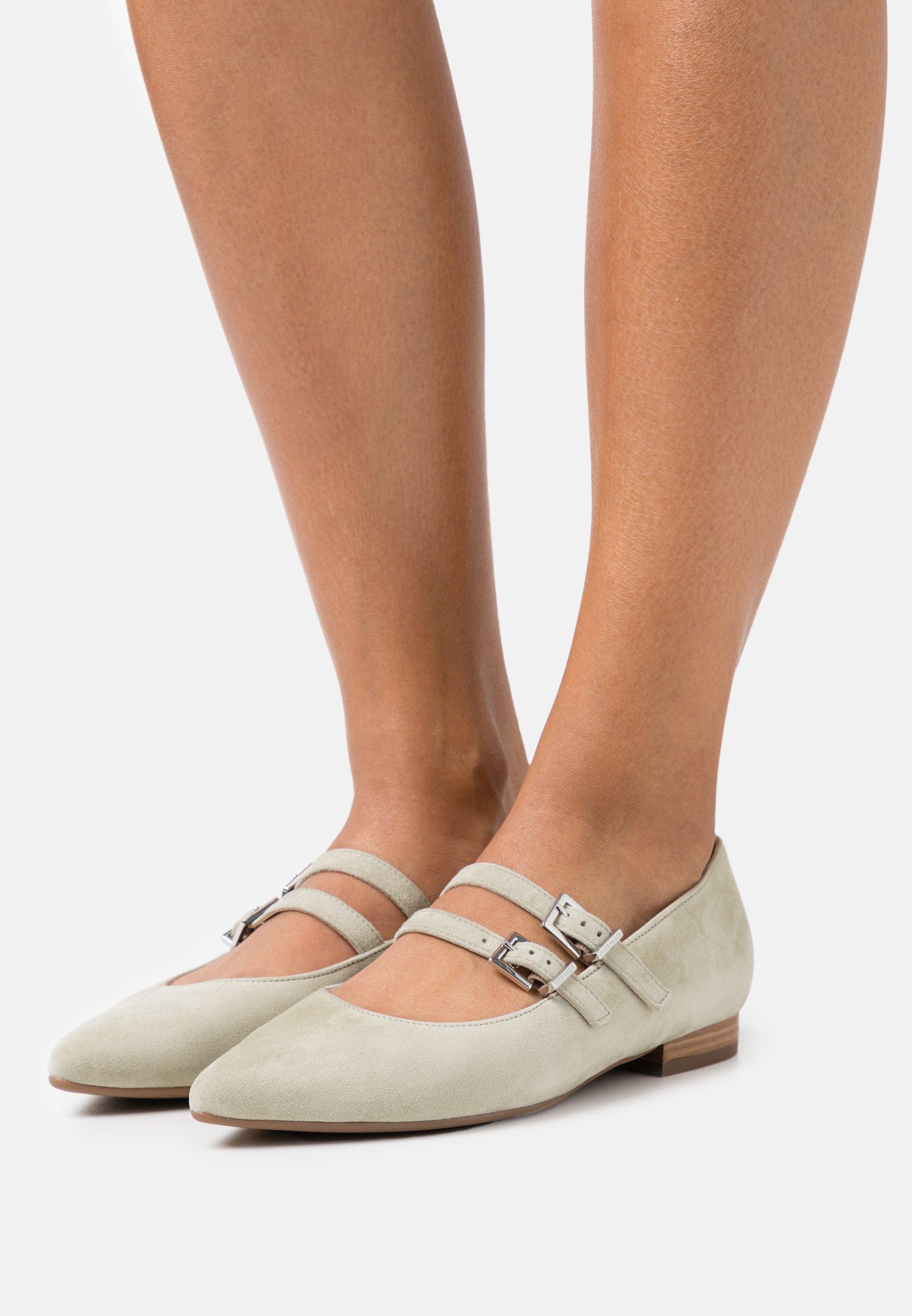 Women TACOMA - Ankle strap ballet pumps - yucca