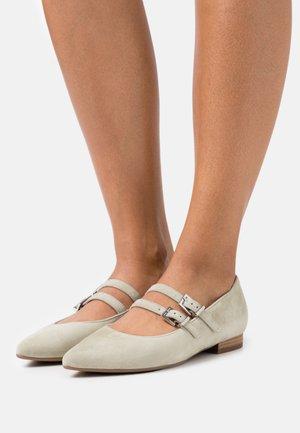 TACOMA - Ankle strap ballet pumps - yucca