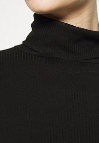 Vila - VISOLITTA ROLLNECK - Long sleeved top - black - 5