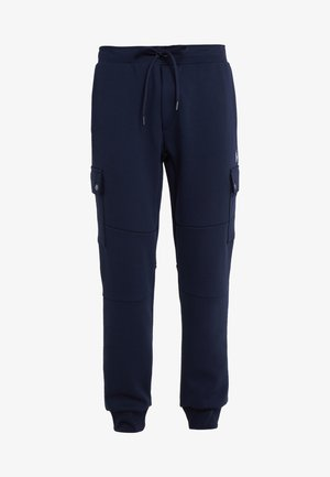 DOUBLE TECH - Pantalon de survêtement - aviator navy