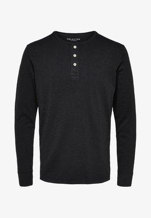 Long sleeved top - black beauty