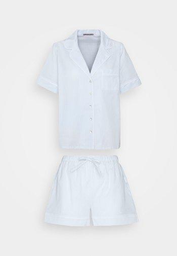 Pyjamas - blue/white
