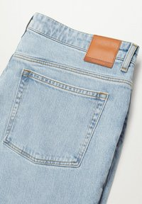 Mango - Relaxed fit jeans - hellblau - 7
