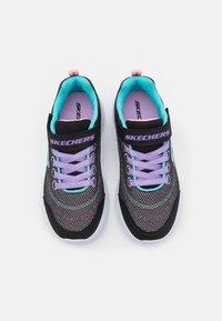 Skechers - SNAP SPRINTS - Baskets basses - black/multicolor - 3