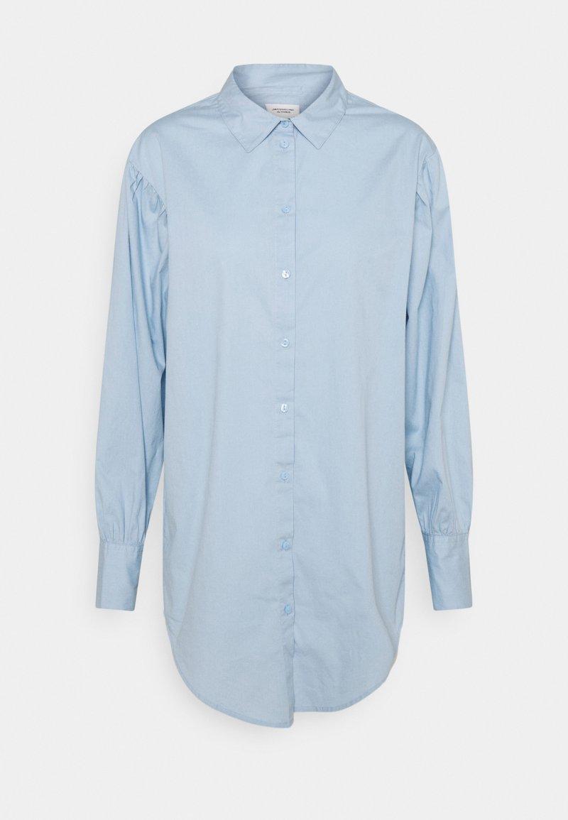 JDY - JDYCAMERON LIFE OVERSIZE - Blus - cashmere blue