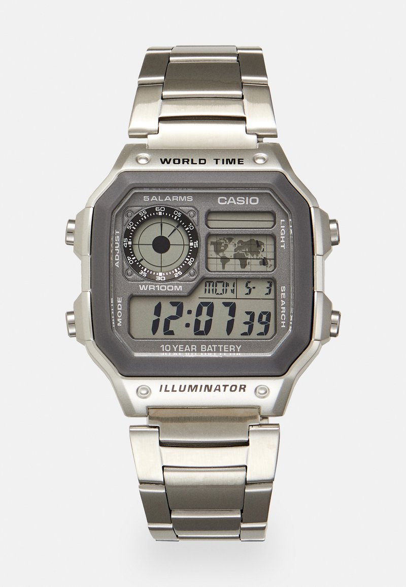 Casio - Orologio digitale - silver-coloured