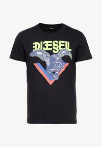 Diesel - DIEGO - Print T-shirt - black - 3