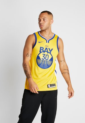 NBA GOLDEN STATE WARRIORS STEPH CURRY ALTERNATE SWINGMAN - Club wear - amarillo/white/rush blue