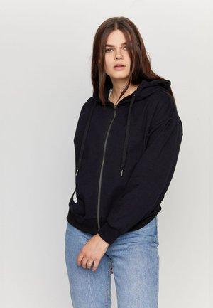 FLORENCE - Zip-up sweatshirt - black