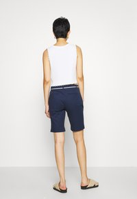 ONLY - ONLPARIS LONG BELT - Shorts - navy blazer - 2