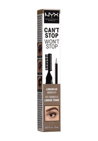 Nyx Professional Makeup - CAN'T STOP WON'T STOP LONGWEAR BROW INK KIT - Eyebrow pencil - 01 blonde - 1