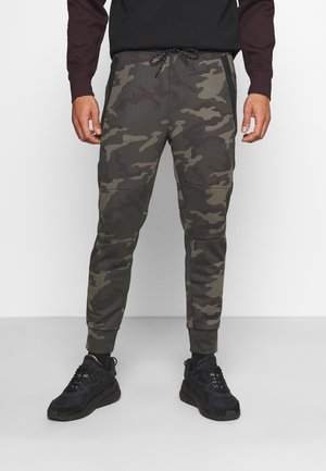 MANCHEGO TAPED JOGGER PANT PRINTS - Tracksuit bottoms - green