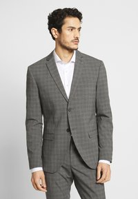 Isaac Dewhirst - CHECK SUIT - Oblek - grey - 0