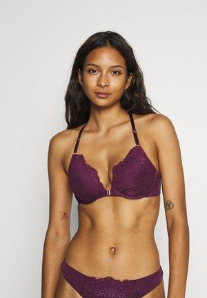 MELISSA - Push-up podprsenka - purple