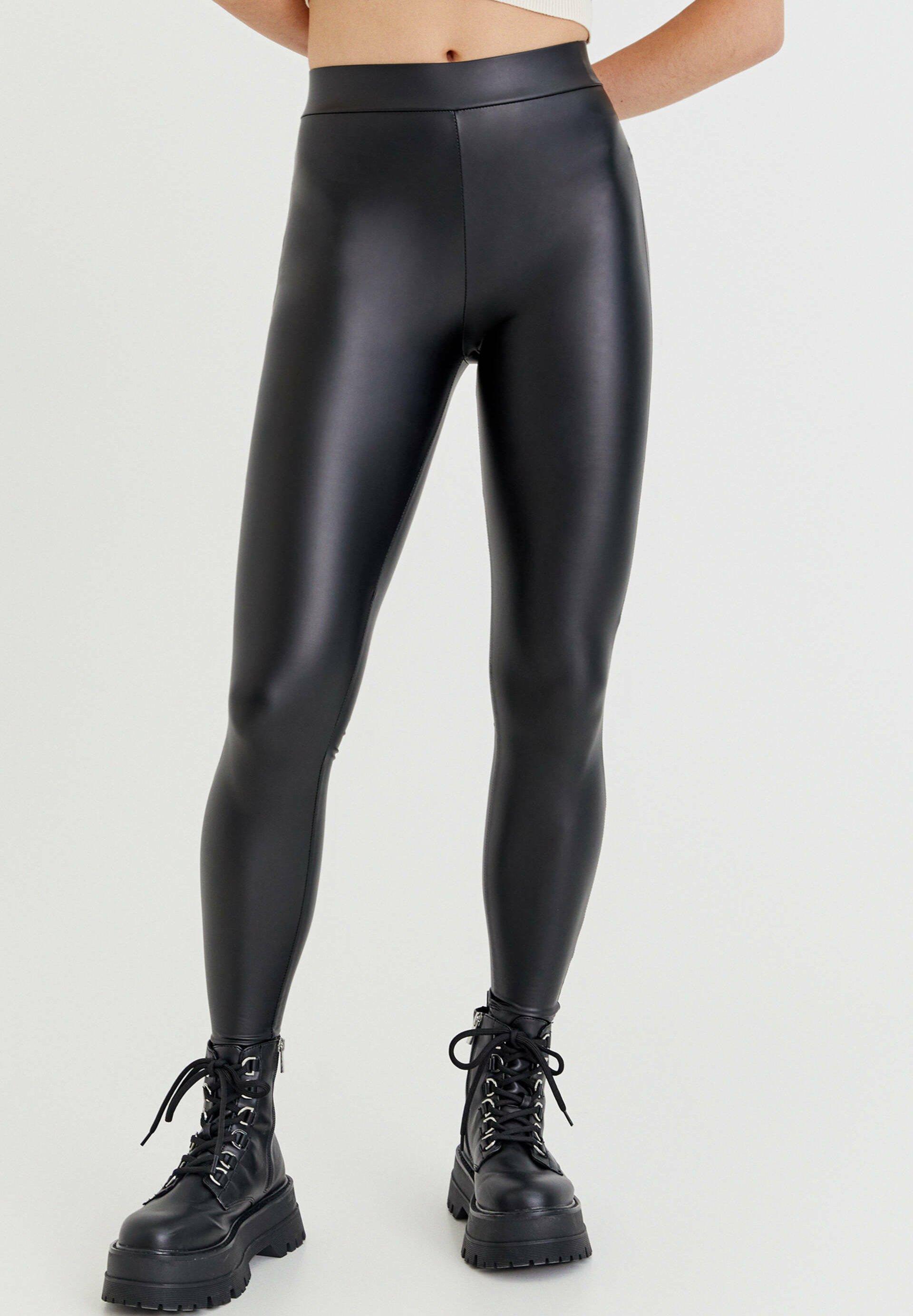 Damen VINYL - Leggings - Hosen