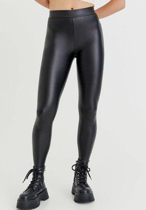 VINYL - Legging - black