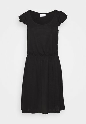 VIBARIA FLOUNCE DRESS - Jerseykjole - black