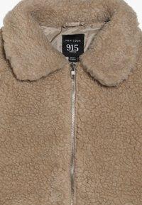 New Look 915 Generation - OVERSIZED BORG JACKET  - Let jakke / Sommerjakker - stone - 3