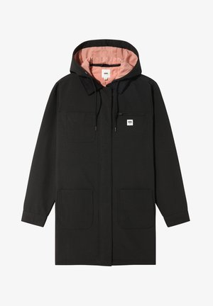 WM DRILL LONG CHORE COAT MTE - Classic coat - black