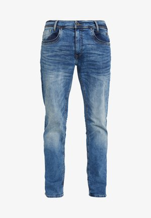 Straight leg jeans - denim middle blue